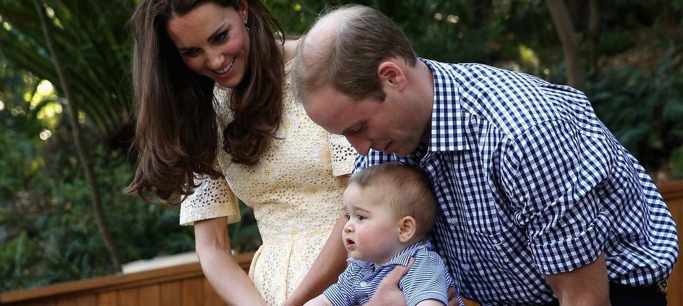 Foto: El príncipe Guillermo y Kate Middleton durante su gira por Australia el pasado mes de abril (Gtres)