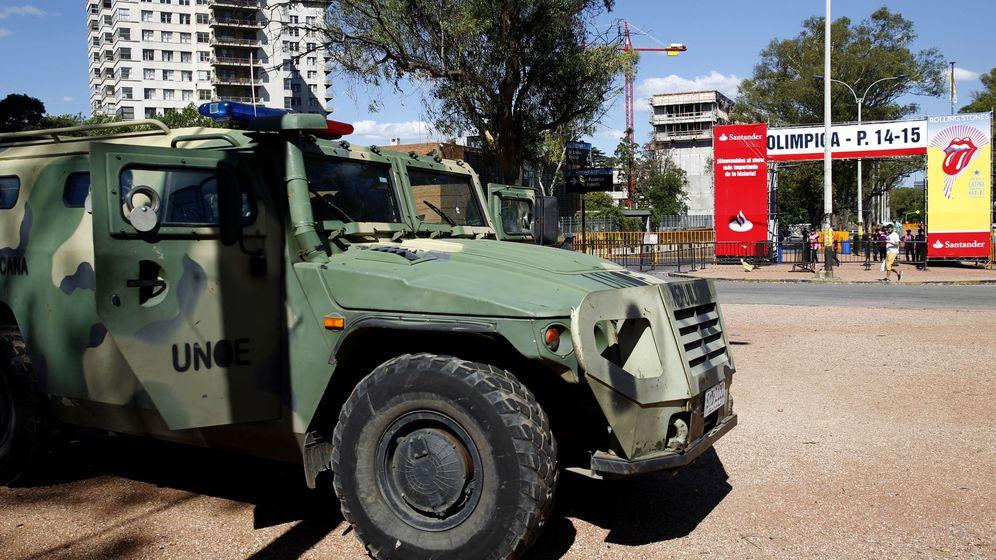 Foto: Operación de la policía uruguaya en Montevideo (Efe).