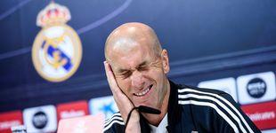 Post de La 'pedrada' de Zidane para decir que la Liga es más complicada que la Champions