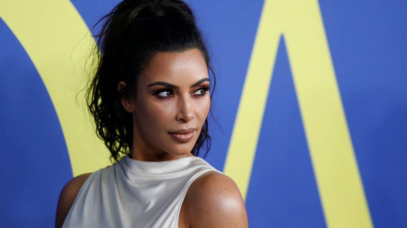 Foto: Kim Kardashian en una entrega de premios. (Reuters)