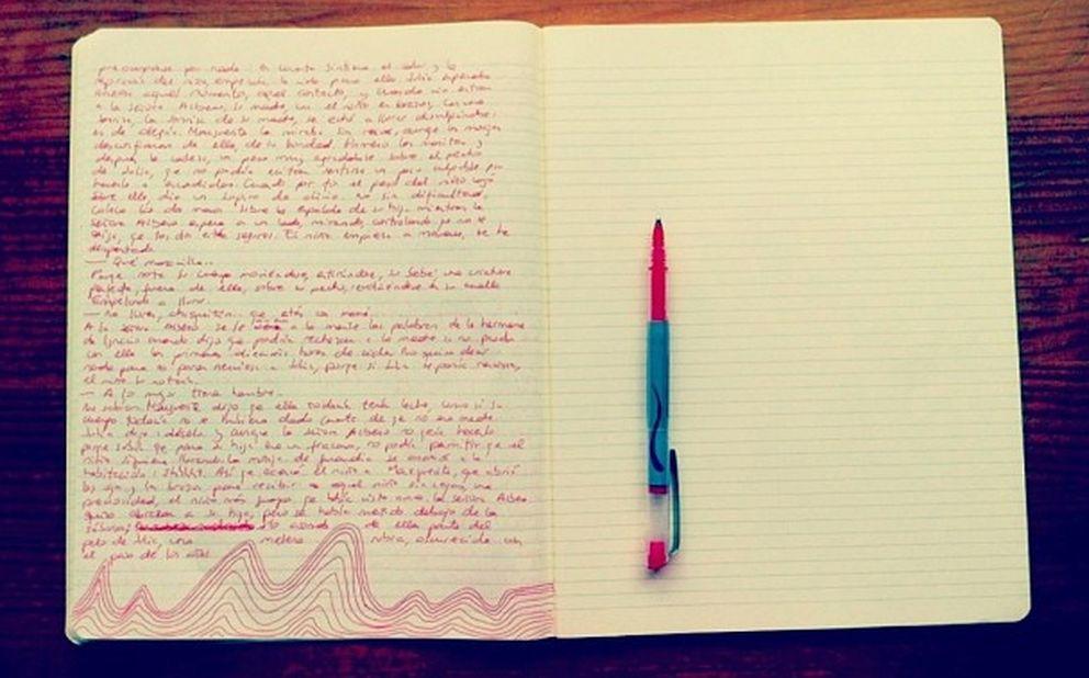 Cuaderno de trabajo de Jenn Díaz (instagram.com/jnndiazz)
