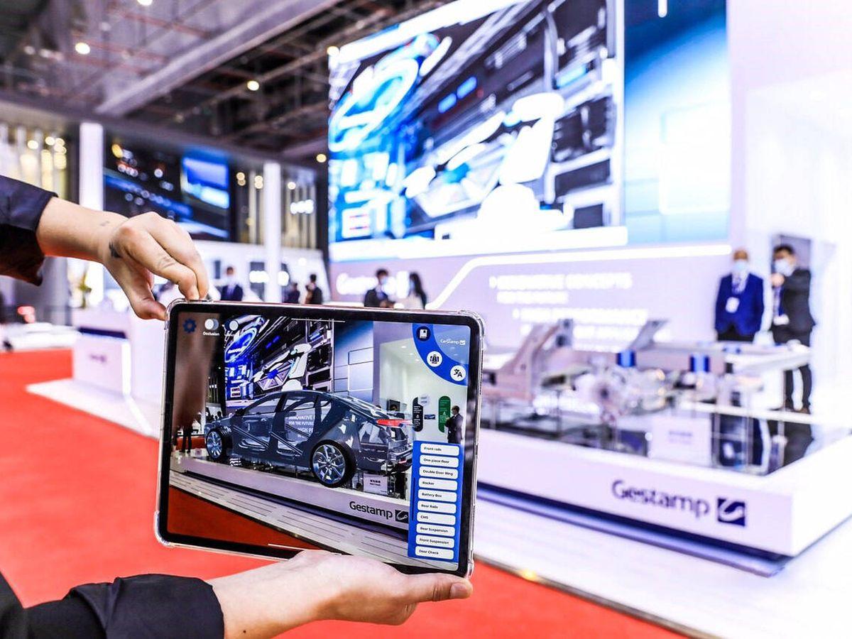 Foto: Gestamp o Antolin, dos grandes del sector, participaron en la última edición del Salón del Automóvil de Shanghai.