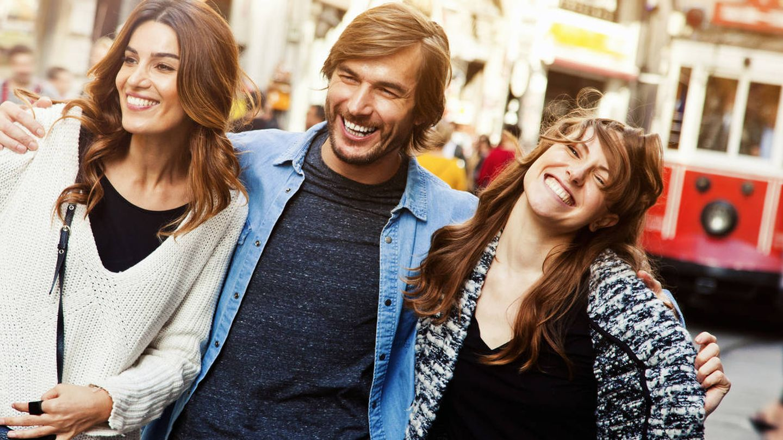 A veces, tres son multitud. (iStock)