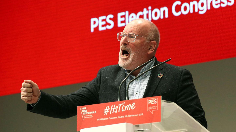 Frans Timmermans, vicepresidente de la Comisión Europea y candidato socialista. (EFE)