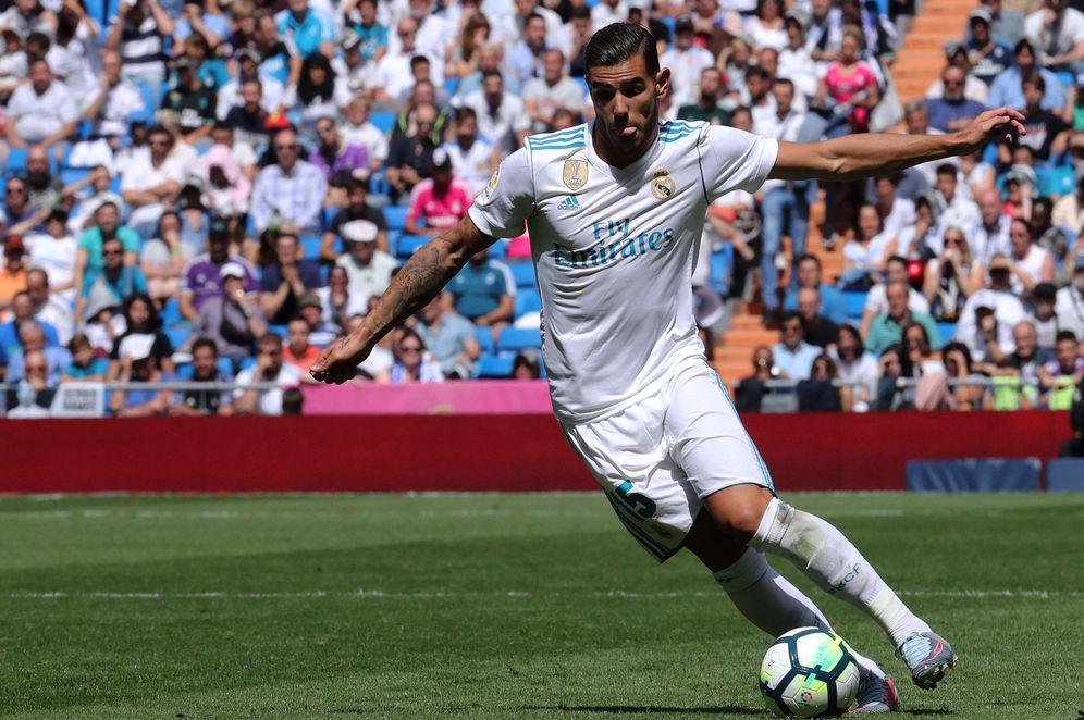 Foto: En la imagen, Theo Hernández durante un partido del Real Madrid. (EFE)