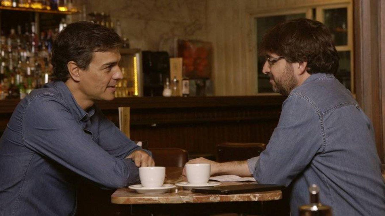 Foto: Pedro Sánchez en su entrevista con Jordi Évole