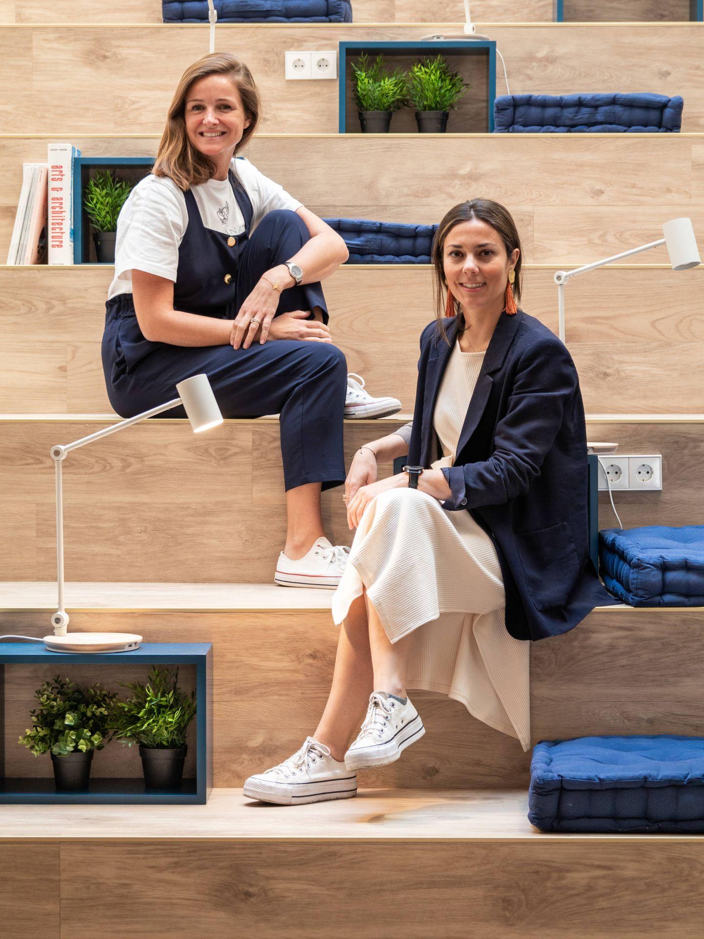 Adriana Arranz Sobrini y Cristina Chaves Galán. (Cortesía)