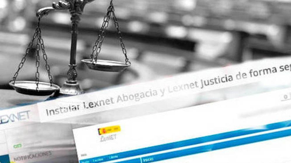 Foto: Servicio LexNet en el Ministerio de Justicia.