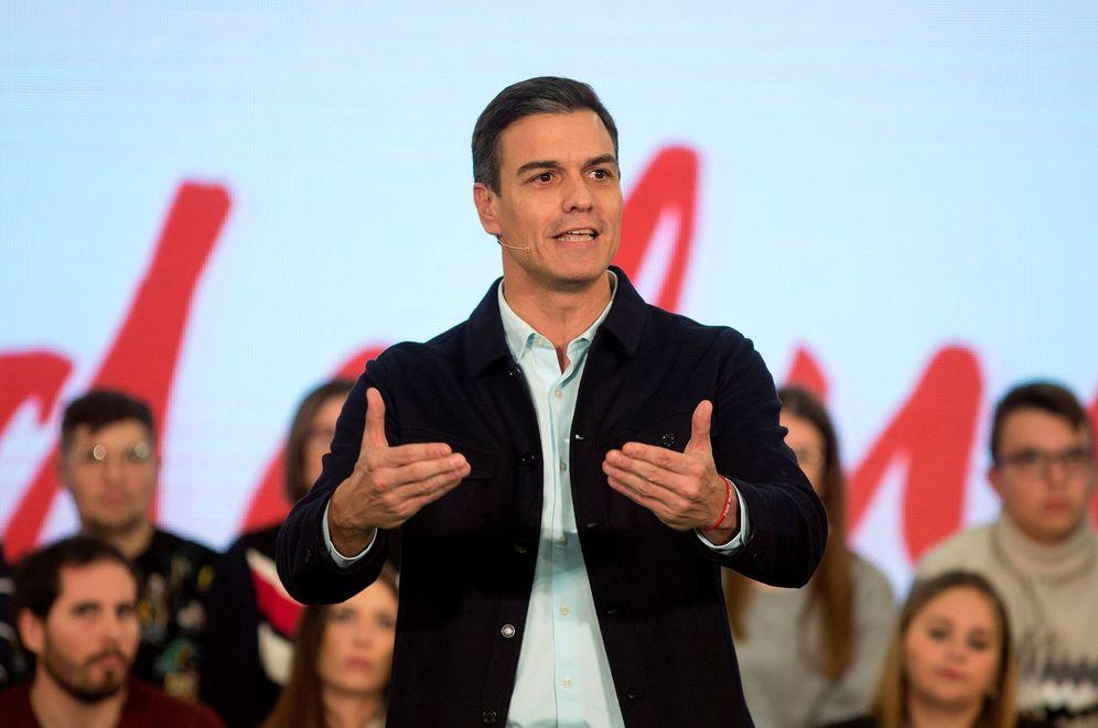 Foto: Pedro Sánchez, el pasado 27 durante su último mitin de campaña de las andaluzas, el pasado 27 de noviembre en Marbella. (EFE)
