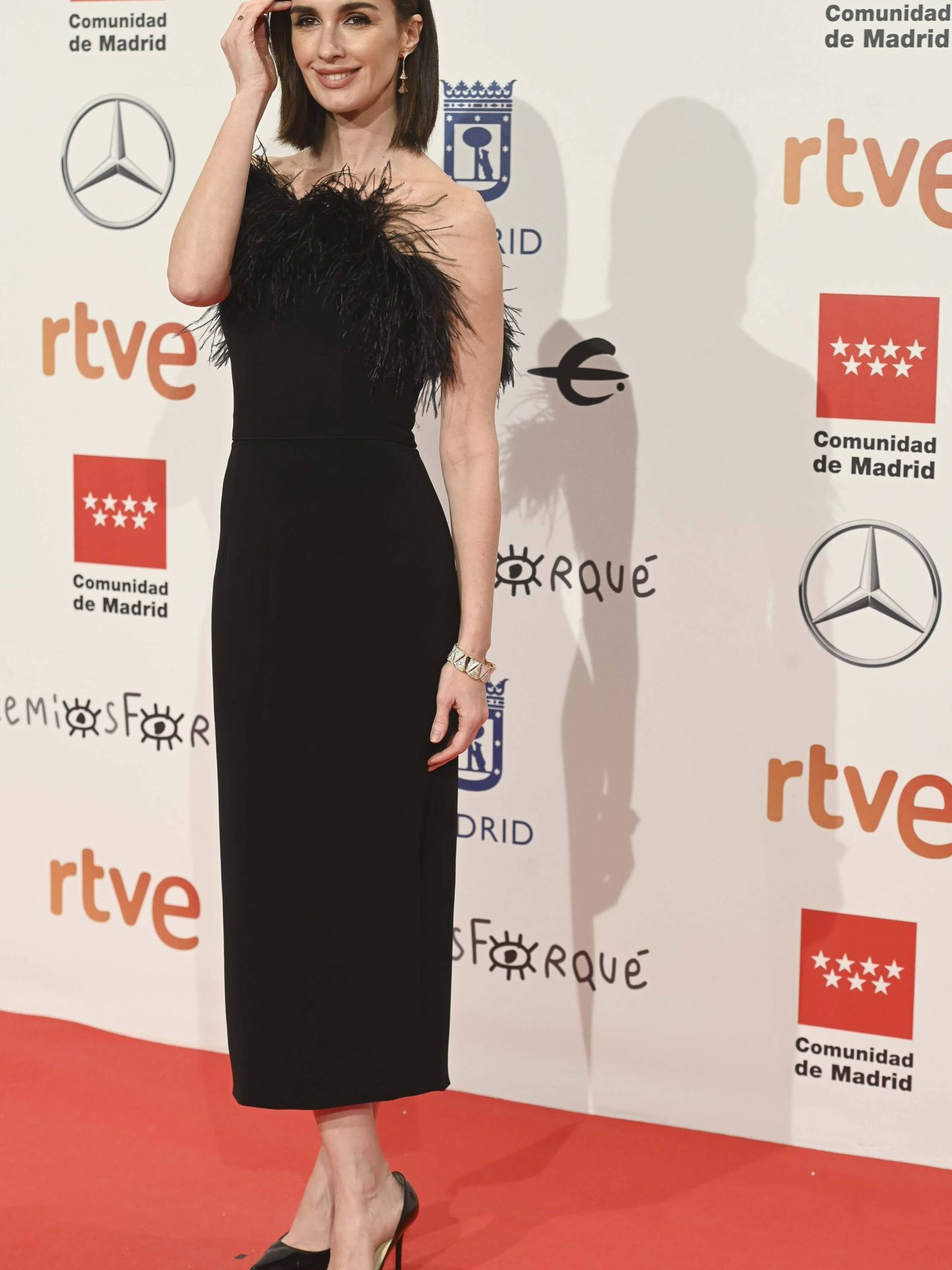 Paz Vega en los Premios Forqué 2020 (Cordon Press)
