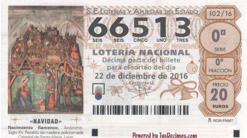 El Gordo de la Lotería de Navidad cae en el número 66.513