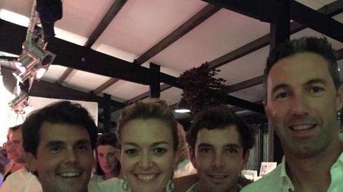 Marta Ortega y Sergio Álvarez,  muy felices cuando están juntos