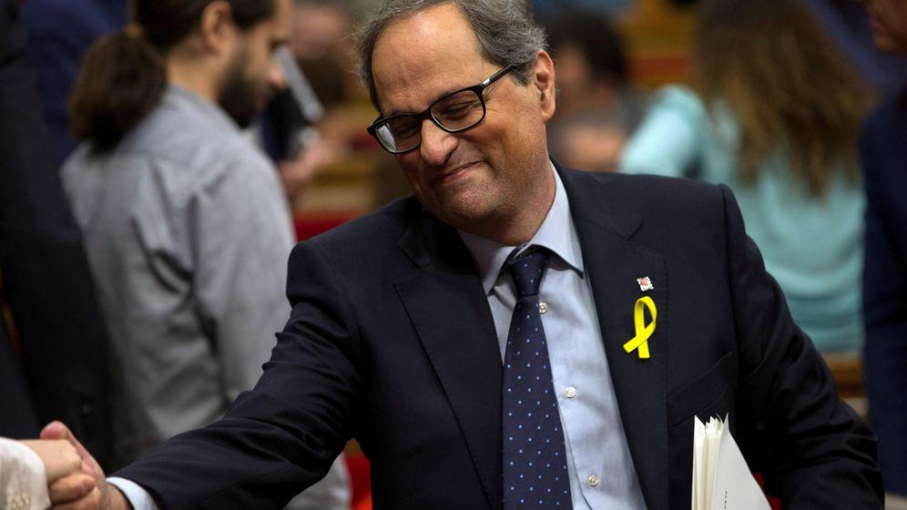 Foto: El candidato Quim Torra de JxCAT. (EFE)