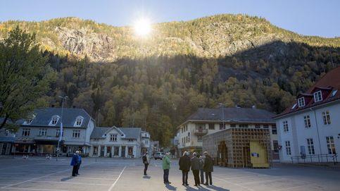 Viganella y Rjukan: los pueblos sin sol que utilizan un espejo para evitar la penumbra