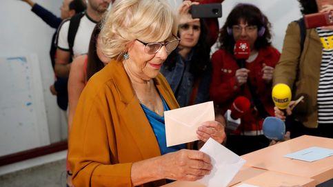 Elecciones municipales: Manuela Carmena vota con los deberes hechos y espera sacar buena nota en los comicios