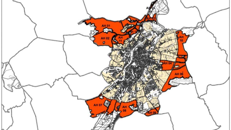 La ciudad de Valladolid dispone de todos sus flancos listos para desarrollar. (Junta de CyL)
