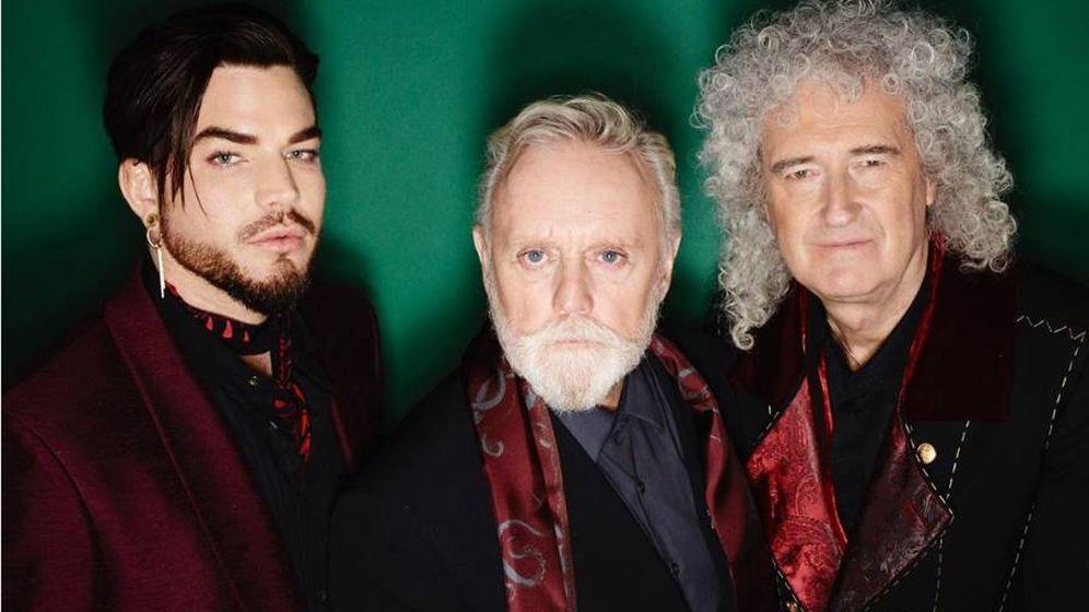 Foto: Imagen promocional de Adam Lambert, junto a Queen.