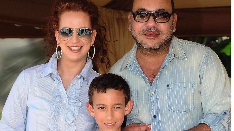 Mohamed y Lalla Salma. (Cordon Press)