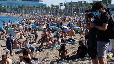 Barcelona reducirá el aforo de sus playas en un 15% para evitar aglomeraciones