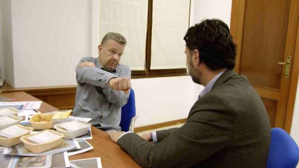 El zasca de Chicote al Ayuntamiento de Málaga por la pésima comida de mayores