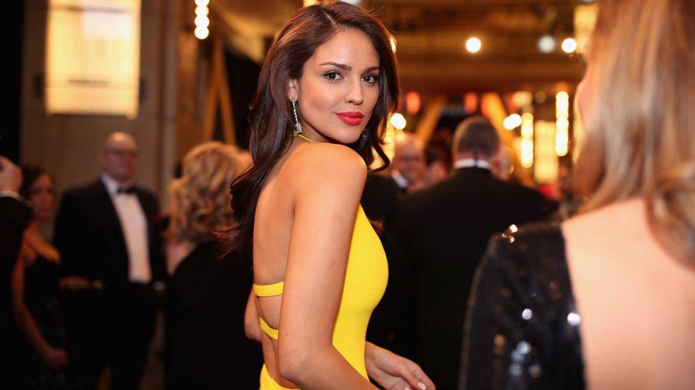 Foto: Eiza González en los Oscar de 2018. (Getty)