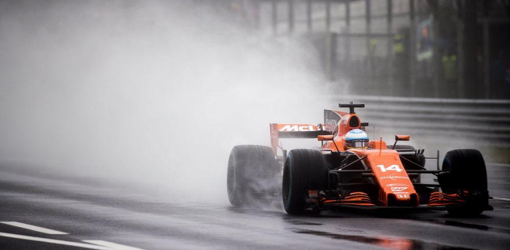 Foto: Fernando Alonso ensu McLaren, en una imagen de archivo. (EFE)