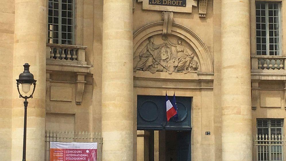 Foto: facultad de Derecho de la Universidad París 1 Panteón-Sorbona de París, donde la joven estudiante desaparecida Natalia Sánchez Uribe recibe clases con una beca Erasmus (Efe)