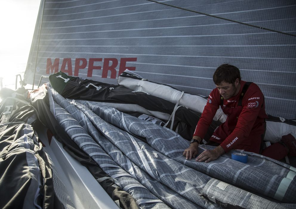 Foto: Antonio Cuervas-Mons, del Team Mapfre.