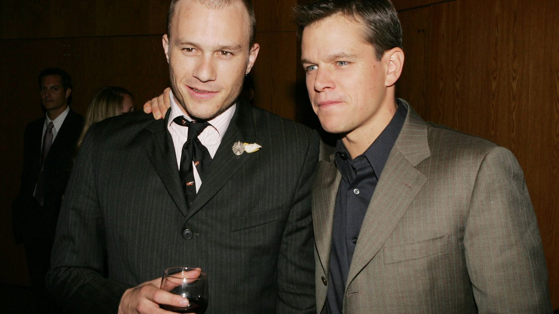 Matt Damon y su mujer Luciana recuerdan así a su 'ángel' Heath Ledger