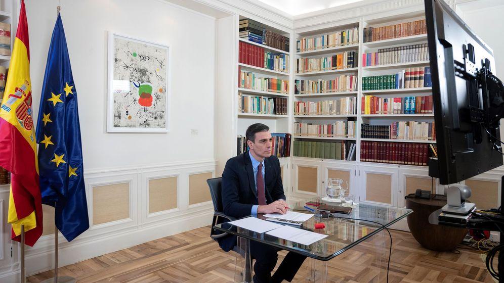 Foto: El presidente del Gobierno, Pedro Sánchez, participa en el Consejo Europeo. (EFE)