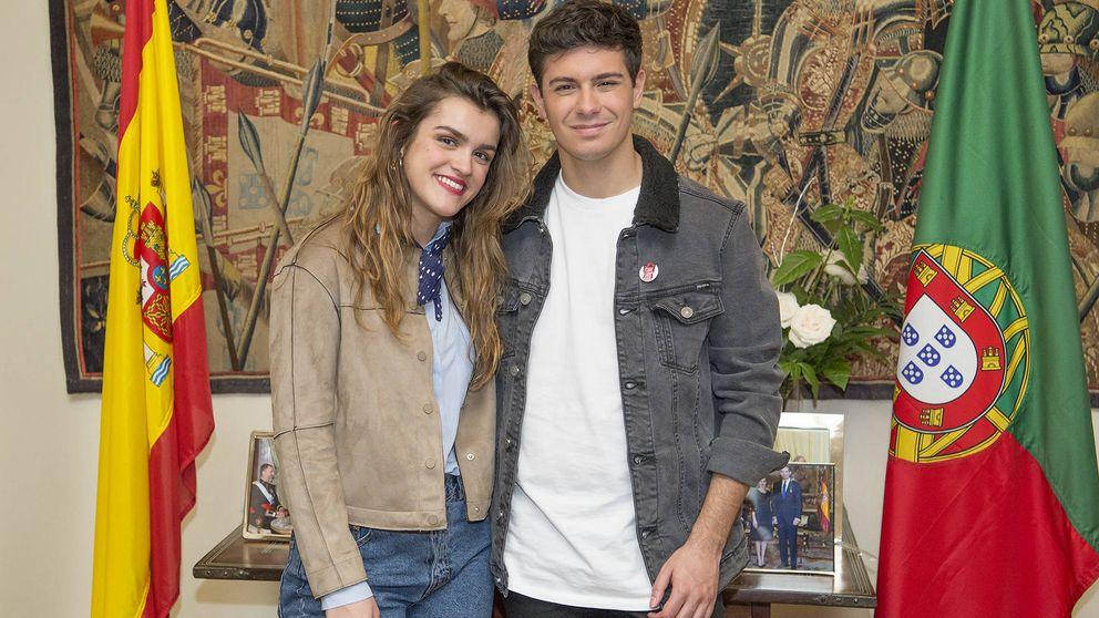 El embajador de Portugal en España recibe a Amaia y Alfred