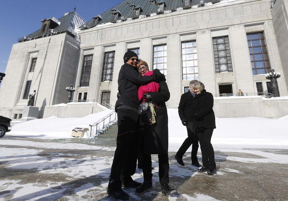 Foto: La madre de la canadiense Lee Carter tuvo que viajar a Suiza en 2010 para poder quitarse la vida legalmente (Reuters)