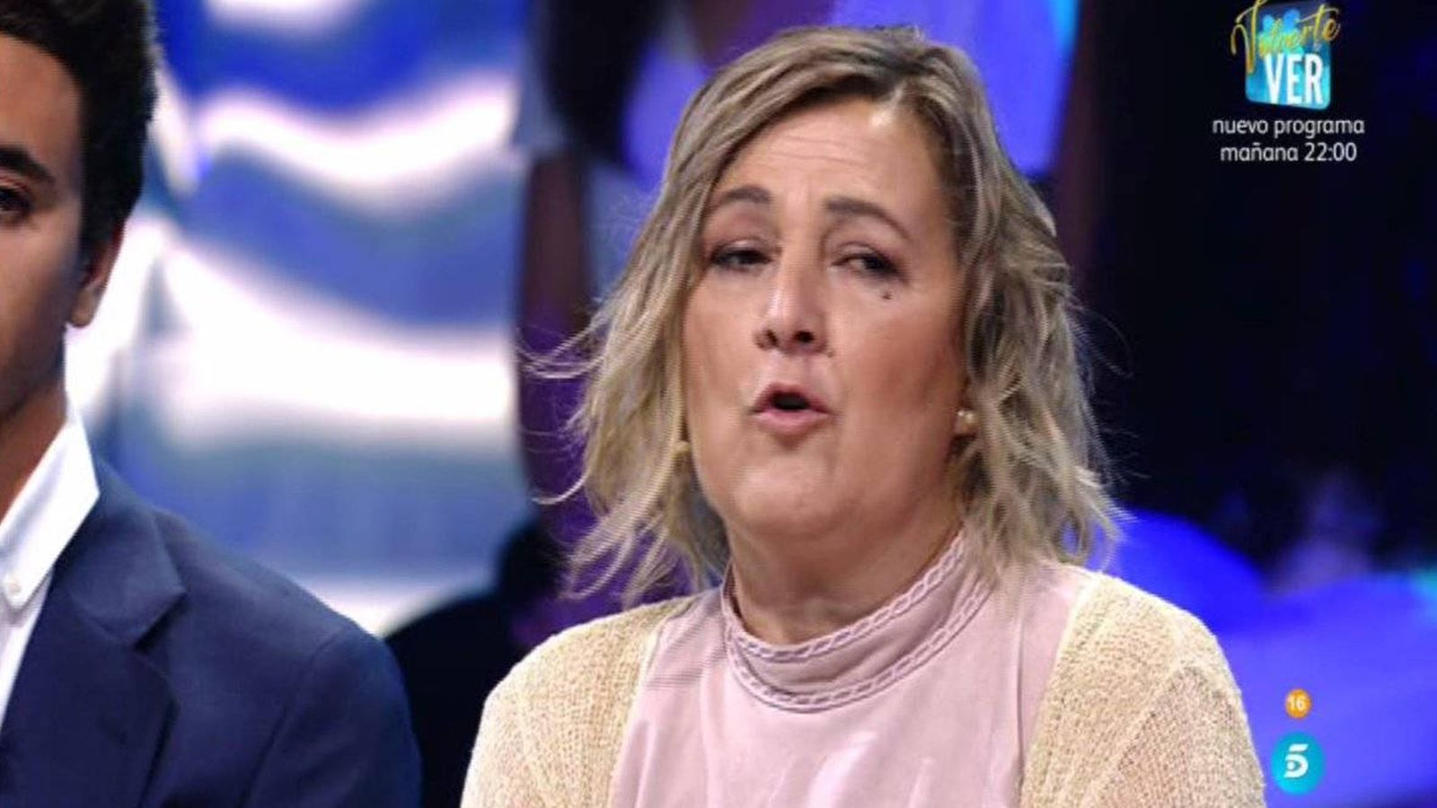 """Foto: La madre de Hugo denuncia el """"maltrato psicológico"""" que sufre su hijo en 'Supervivientes 2018'. (Telecinco)"""