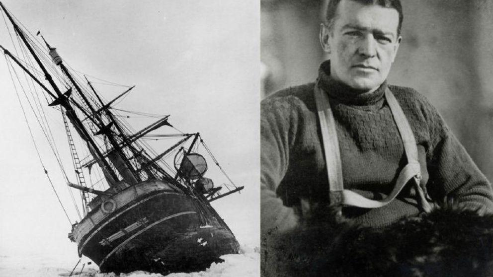 Schakleton, el explorador que llegó a la Antártida con un agujero en el corazón