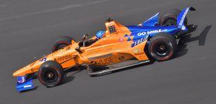 Post de Fernando Alonso, sin problemas en su cuarto día en las 500 Millas de Indianápolis