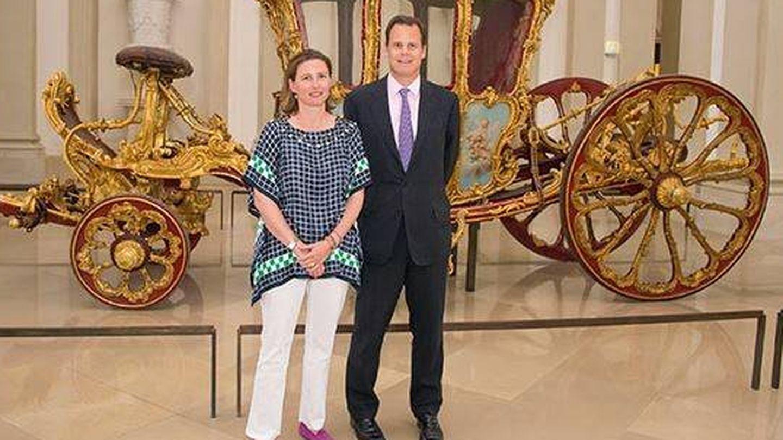 Constantine y Marie Gabriele. (Facebook)
