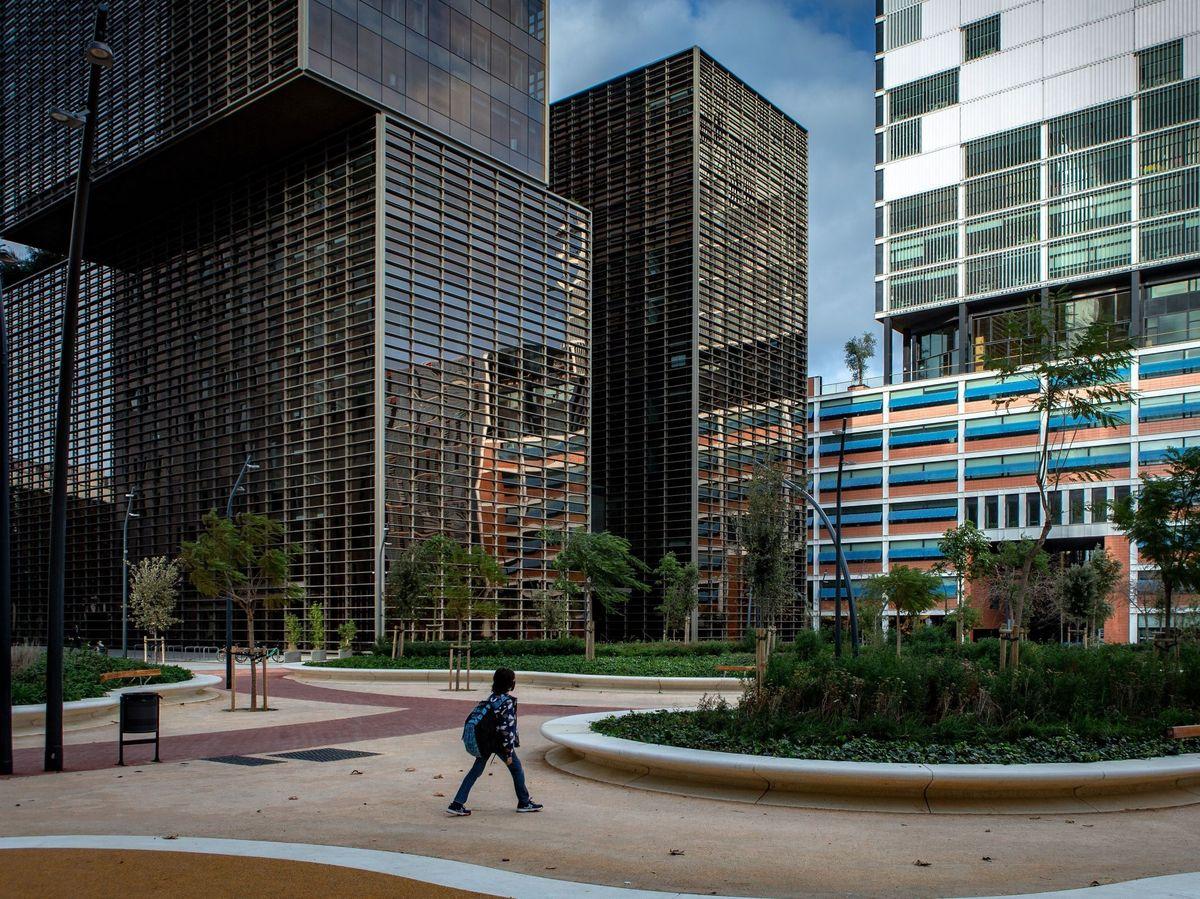 Foto: Fotografía de archivo. El distrito barcelonés del 22@. (EFE)