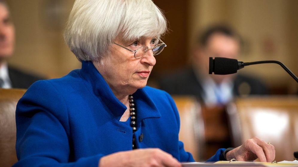 Foto: La presidenta de la Reserva Federal, Janet Yellen.
