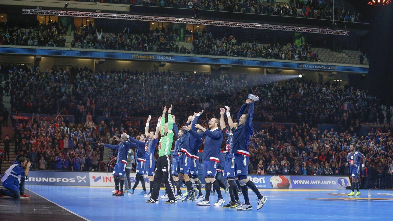 Foto: El Francia-Isladia de Lille batió el récord de asistencia a un partido de un gran torneo internacional (Imago)