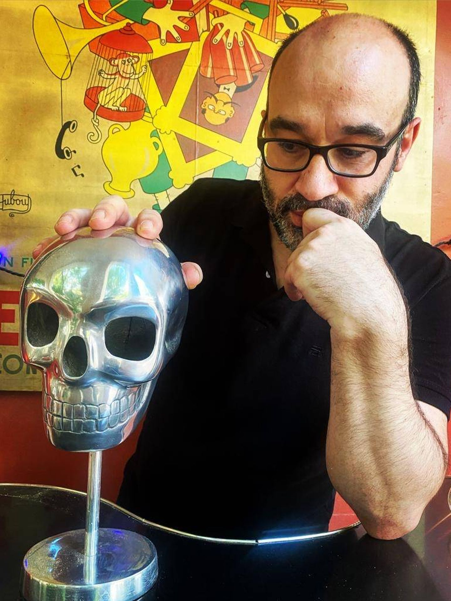 'To be or not to be' Alberto Olmos. (Alexis López)
