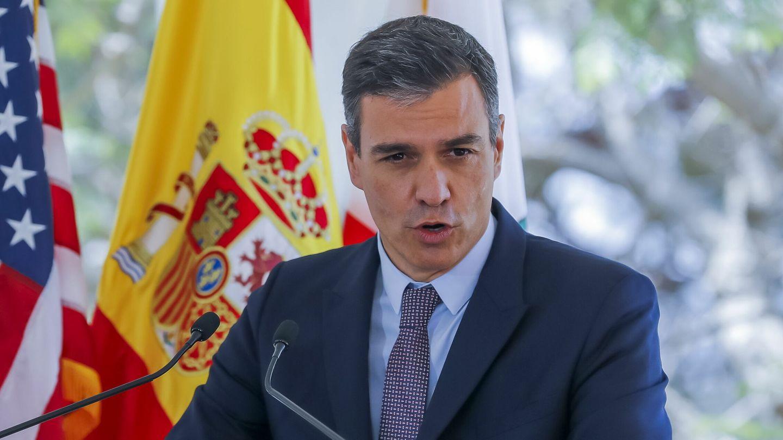 Pedro Sánchez habla en la Universidad de California. (Reuters)