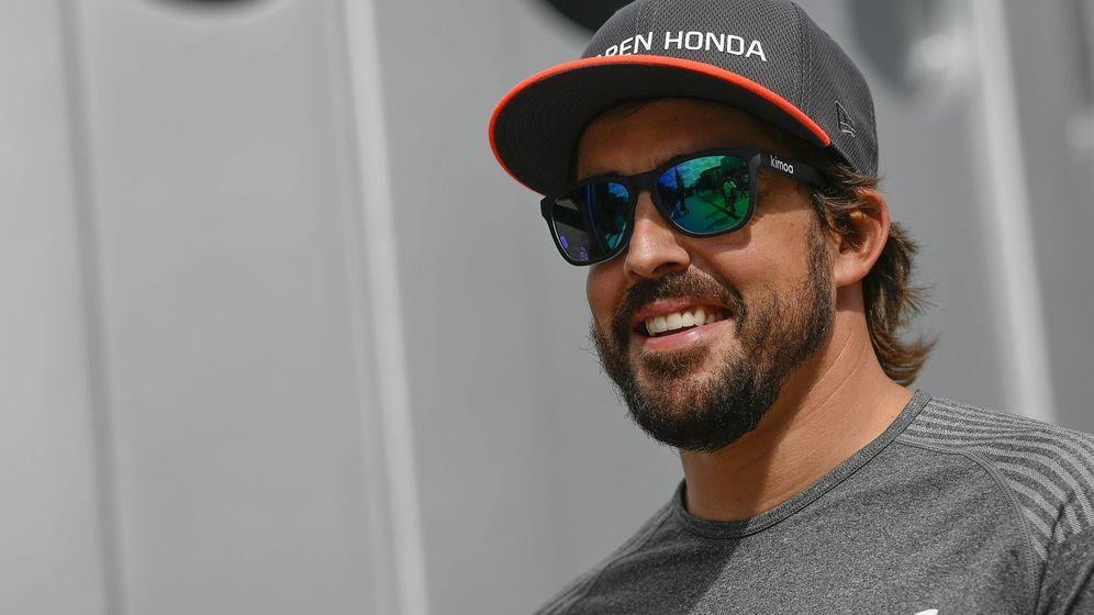 Foto: Fernando Alonso fue sexto en el GP de Hungría. (EFE)