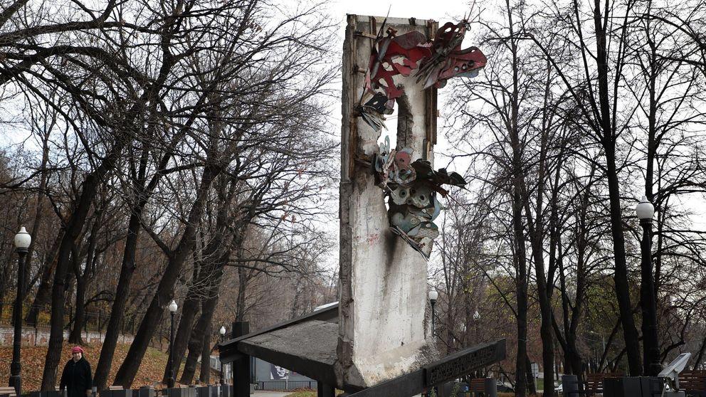 Un fragmento del Muro de Berlín se esconde en el centro de Moscú