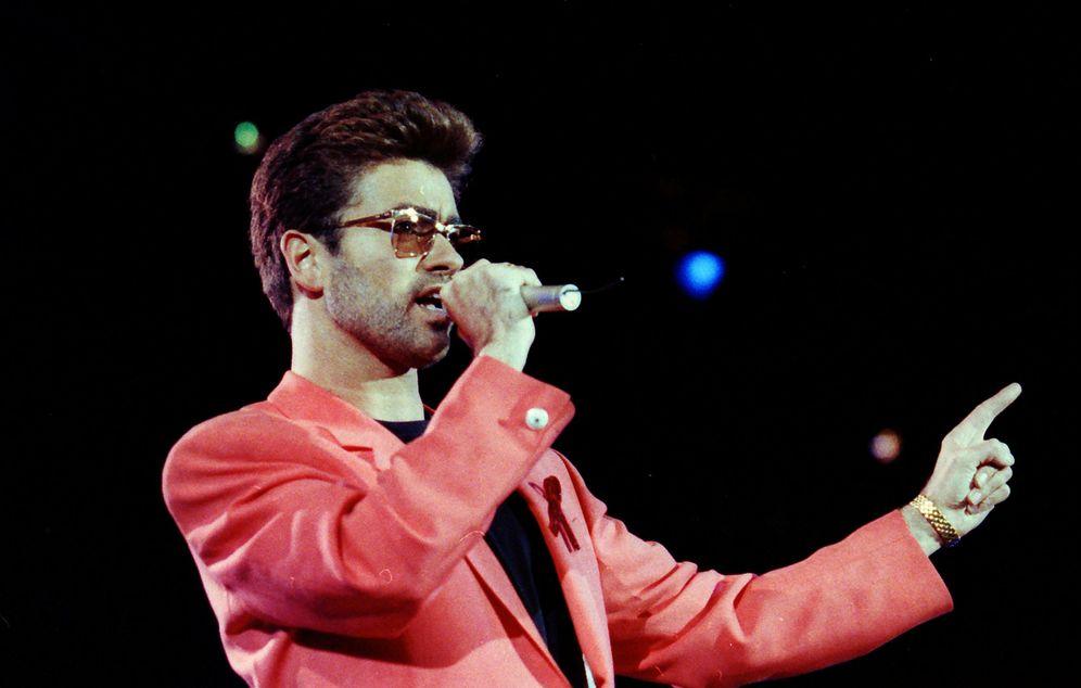 Foto: George Michael en una foto de archivo.