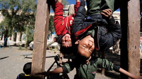 El valor de unos huérfanos bajo las bombas