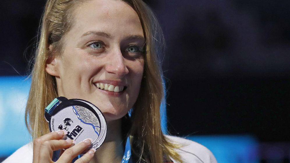 Foto: Mireia Belmonte cerró el mejor Mundial de su carrera: un oro y dos platas. (Reuters)