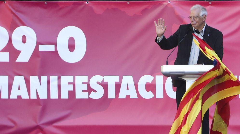 Foto: El exministro y expresidente del Parlamento Europeo (PE), Josep Borrell. (EFE)