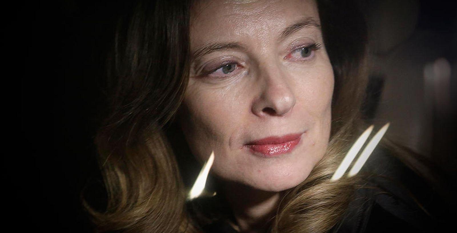 Foto: La ex primera dama de Francia, Valérie Trierweiler (Reuters)