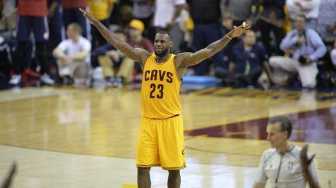 Un legendario LeBron James acaricia su quinta final consecutiva de la NBA