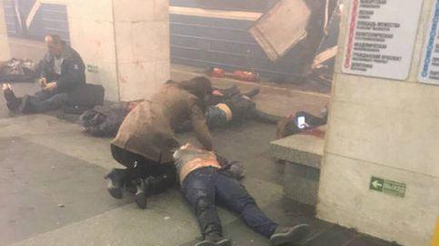 Al menos 11 muertos en un atentado en el metro de San Petersburgo